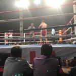 Boxing Ringside Action