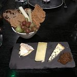 Cheese board dessert