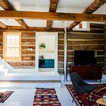 Babylon Log Cabin Interior