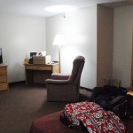 Rooms have plenty of space