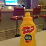 Diner with American mustard!