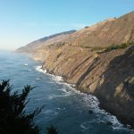Looking up the coast to Big Sur