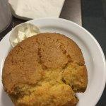 corn bread muffin