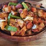 Pan Fried Chilli Tofu