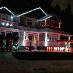 Cornerstones B&B Christmas lights Dec 2017