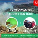 Combo Package (Room and Kawah Ijen Tour)