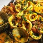 Sepia Seafood Pasta