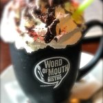 Hot chocolate, Word of Mouth Cafe, Salem, OR