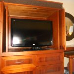 tv in drawered unit