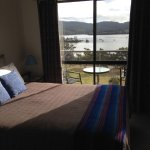 Blue room with views to Parson's Bay from the bed
