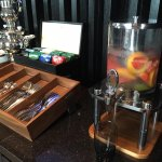 Welcome drink in club lounge