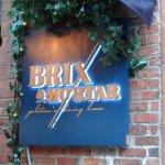 entrance of brix & mortar