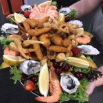 One of our Chefs delicious Seafood Platters