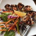 Merimbula RSL Oysters Kilpatrick