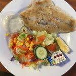Daily Special: Grilled Barramundi and salad