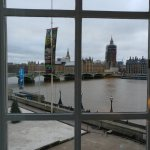 Window view from 2nd floor Big-Ben view room.