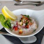 Kokoda- raw fish in coconut cream