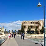 looking back from the pier towards Glenelg