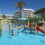 Water park/slides pool