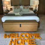 Wonderful warm welcome