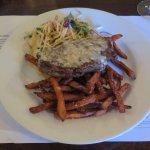 Porterhouse & Sweet Potato Fries