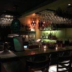 Local Flavor Cafe Bar area