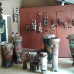 Artifacts from west Africa.