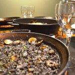 Arroz Negro. Black Rice