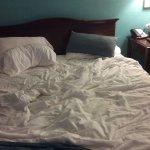 Bed #1 not touched by housekeeping for 2 nights!