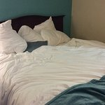 Bed #2 also untouched by housekeeping for 2 nights!