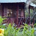 Private patio, villa