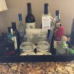 "Best ""Mini Bar""ever- Patron, Makers Mark...."