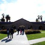 Toward Stanford Memorial Church