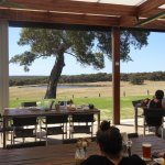 Attractive outlook from restaurant