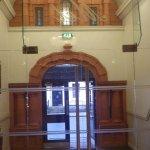 Main Door 'The Met' from the reception area
