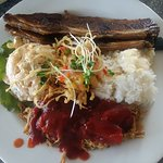 Hilo Local Plate - the kalbi is so good!