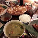 Matchstick chicken, Green Chicken Curry, Thai Roti, Pad Thai, Chicekn Stay, Crackers, Potato fri