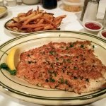 Crusted Rainbow Trout, $27