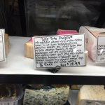 Sampling of cheese selection