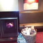 Log fires to warm you up on a cold, wintery day