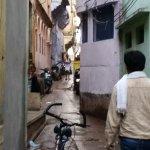 Varanasi Walks - narrow cobblestone streets of Varanasi ©conniemotz.com