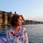 Varanasi Walks - sunrise boat tour, photo by Lao Tse ©conniemotz.com
