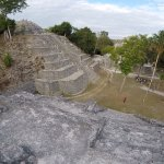 view from a pyramid
