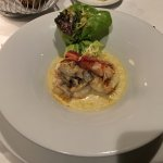 Lobster thermidor appie