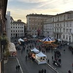 View of the Christmas Market in Piazza Navona