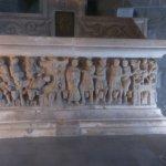 The sacrcophagus