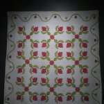 One of the many quilts associated with President Lincoln.