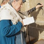 Zvika shot this while I was praying at the Western Wall