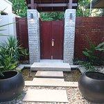 entry inside villa