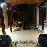 inside entry of villa